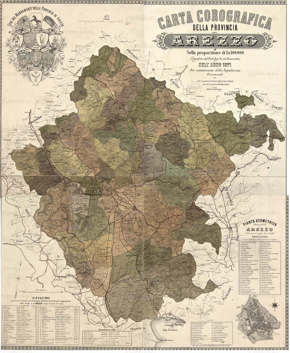 Cartina Geografica Di Arezzo.Carta D Identita Del Comune Di Arezzo 2ª Parte Comune Di Arezzo