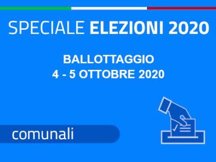 Turno di ballottaggio - 4 e 5 ottobre