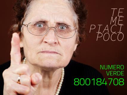 Volantino campagna di prevenzione truffe agli anziani